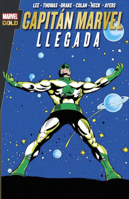 Marvel Gold Capitán Marvel Llegada Marvel Autores Stan Lee Roy Thomas Don Heck Arnold Drake Número De Páginas 304 Pp Livros De Quadrinhos Quadrinhos