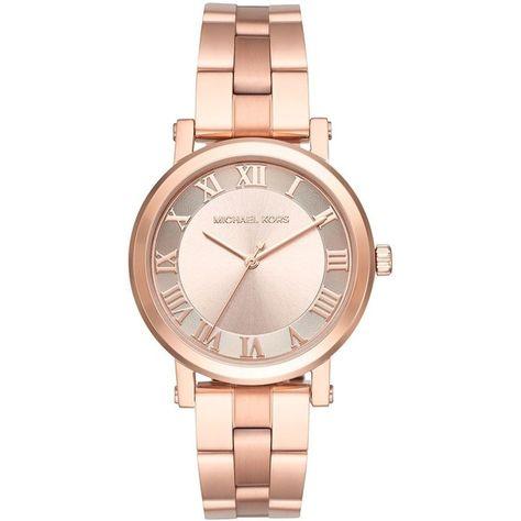 Michael Kors Norie Rose Goldtone Stainless Steel Bracelet