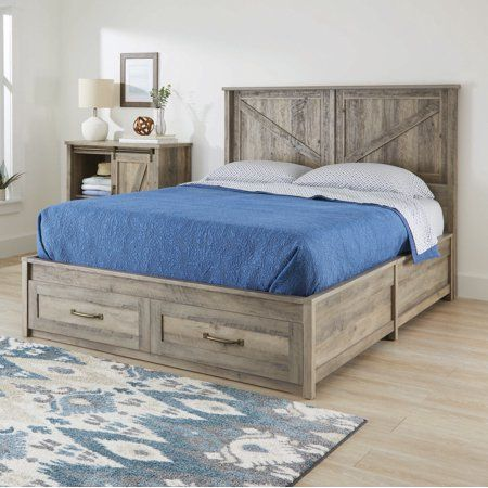 Home Platform Bed With Storage Queen Platform Bed Bed Frame