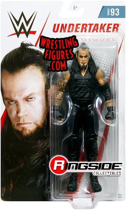 WWE Mattel action figure BASIC Series  UNDERTAKER raw kid toy PLAY Wrestling