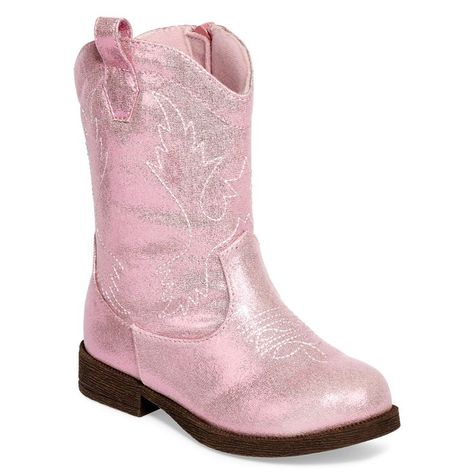 jcpenney - Okie Dokie® Toddler Girls Sparkle Cowboy Boots for a Sheriff Callie birthday
