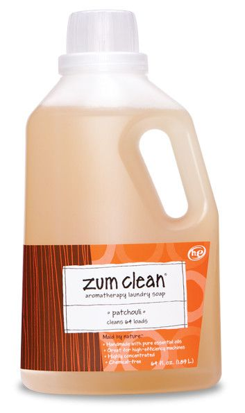 Zum Clean Laundry Soap Patchouli Laundry Liquid By Indigo Wild