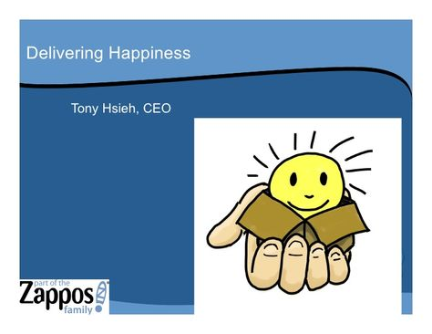 Culture and Core Values: The Zappos Family Way