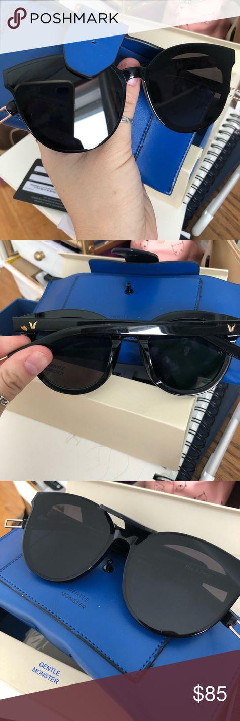 e4ddd0e5e951 Gentle monster sunglasses black peter flatba Gentle monster sunglasses w  case cards. The black peter