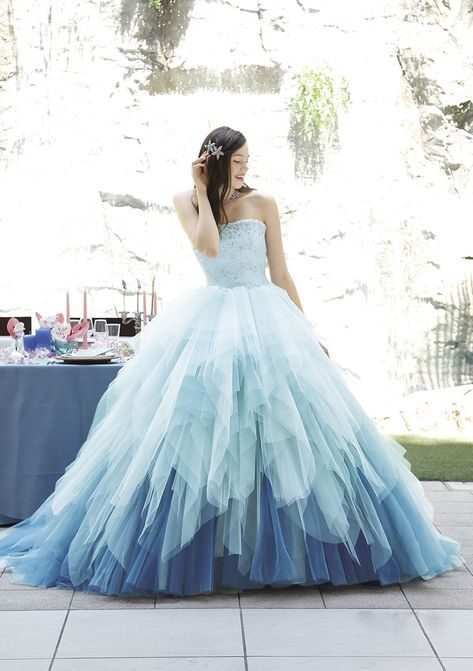 catch the spring breeze 20 colored wedding dress for spring brides colored wedding dress ball gowns tulle evening dress