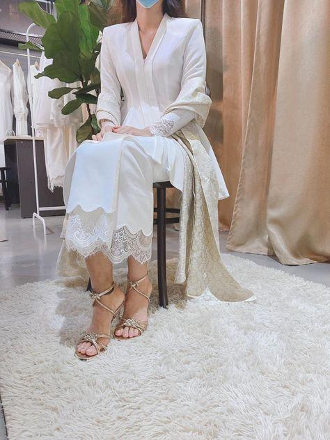 Lace & Songket Kebaya Wedding