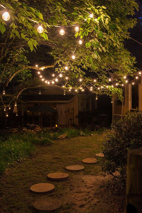 Make These Amazing Candle Lanterns Your Next Diy Outdoor Tree Lighting Outdoor Party Lighting Backyard Lighting