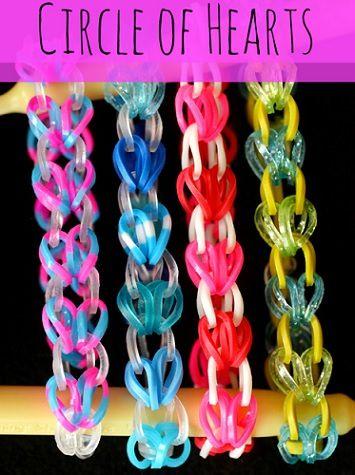 Pulseras De Gomas De Colores Pulseras De Gomitas Manualidades Pulseras De Ligas