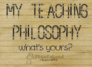 Totally agree with what this blogger wrote. Yeah, I need to write my teaching philosophy statement. Sounds kind of empowering!