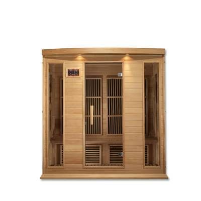 Dynamic Infrared Luxury Series 2 Person Far Infrared Sauna Reviews Wayfair In 2019 Infrared Sauna Steam Sauna Sauna Temperature