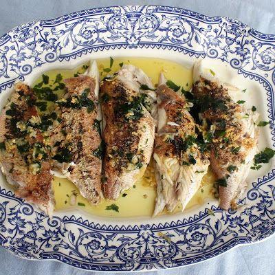 Brecas A La Plancha Comida Platos Con Pescado Recetas De Comida