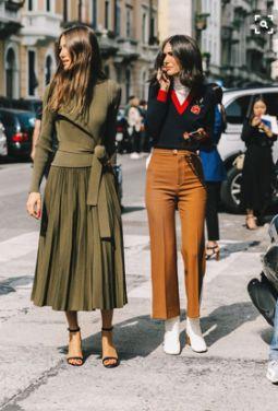 Autumn street style, street chic, milano fashion week milan fashion w