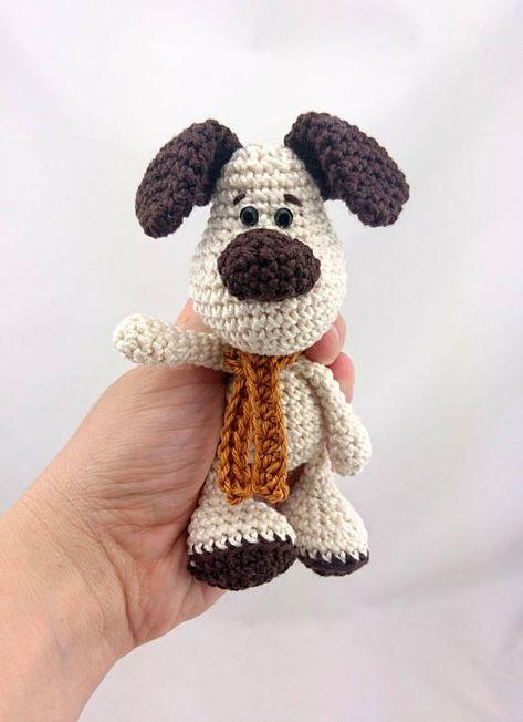 PDF Crochet Pattern ENGLISH Evis the Dog Amigurumi