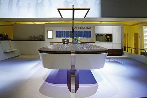 Cucine Di Lusso Design : Cucina di lusso con design originale di alno cucine pinterest