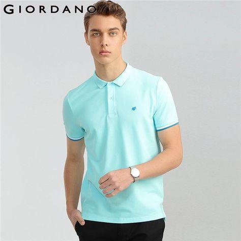 6d08cc13b Giordano Men Frog Polo Animal Pattern Polo Shirts Men Casual Wear Male Short  Sleeve Polos Para Hombre Men Clothing 2018.