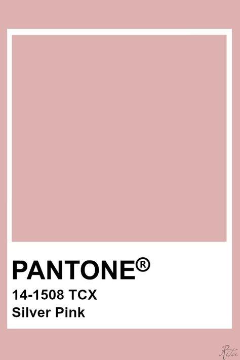 Pantone Silver Pink