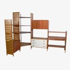 Ladderax Corner System By Robert Heal For Staples Of Cricklewood 1960s Ladderax Drawer Unit Upholstery