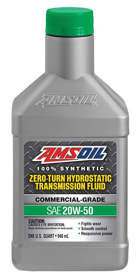 Amsoil 20w 50 Synthetic Hydrostatic Transmission Fluid Is