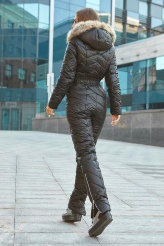Women Winter Jumpsuit Waterproof Ski Snow Suit Outdoor Sport Overall One Piece W
