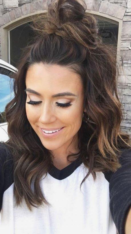 Kurze Schulterlange Haare Frisuren 2019 Einfache Frisuren Mittellang Frisur Ideen Haarschnitt