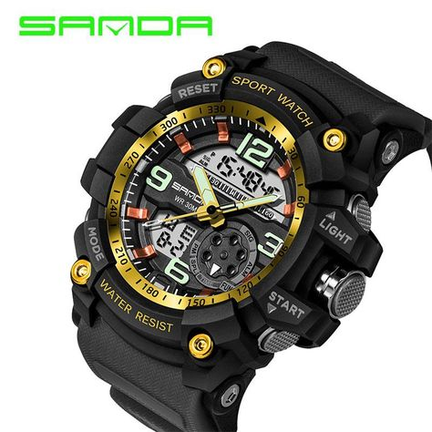 da3e5c7ce 2018 Military Sport Watch Men Top Brand Luxury Famous Electronic LED Digital  Wrist Watch