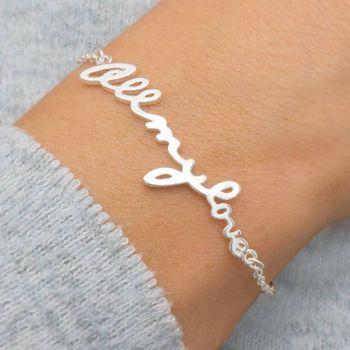 All My Love Customisable Bracelet