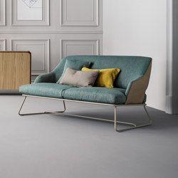 Blazer Sofa Sofas Bonaldo Fabric Settee Settee Sofa