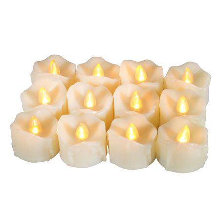 Home Tea Light Candles Flameless Candles With Timer Led Tea Lights