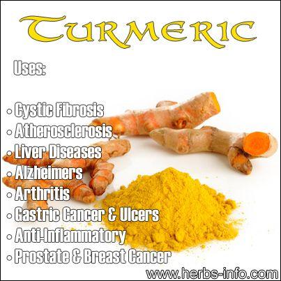 Uses and Benefits of Turmeric