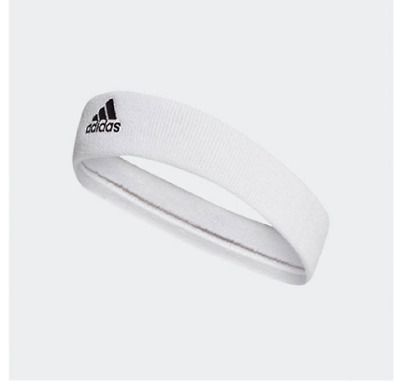 Ad Ebay Adidas Tennis Headband Cf6925 Head Band White Adidas Hair Band Exercise Band Adidas Tennis Band Workout White Adidas