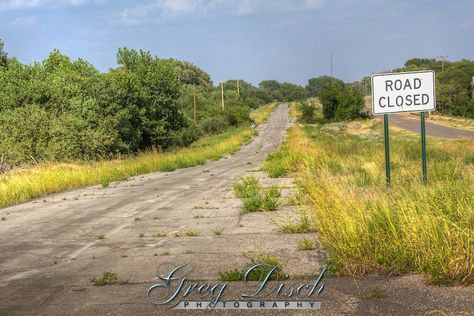 route 66 abandoned road | Old Route 66 Hext Oklahoma 20120702-IMG_6052_3_4-.jpg | Greg Disch ...