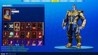 How To Get New Thanos Skin In Fortnite Fortnite Battle