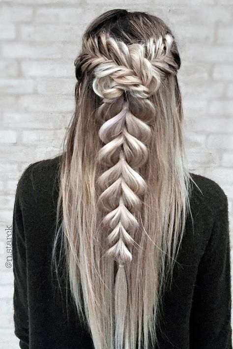 40 Trendy Braided Hairstyles For Long Hair To Look Amazingly Awesome Long Wedding Hairstyles Beautiful Pr Hair Styles Braids For Long Hair Braided Hairstyles
