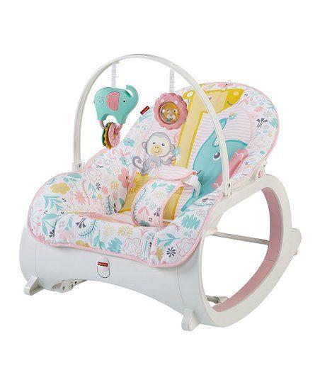 Fisher Price Pink Green Tiny Tea Time Infant To Toddler Rocker Zulily Detskie Tovary Rebenok Malyshi