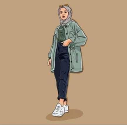 64 Ideas Fashion Drawing Hijab For 2019 Drawing Fashion Hijab Ideas Ilustrasi Gambar Mode Menggambar Model Pakaian