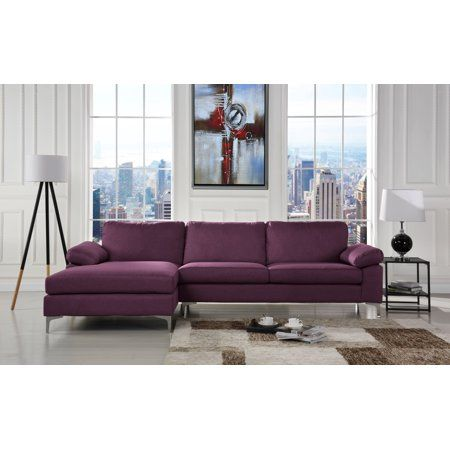 Linen Fabric Sectional Sofa, Large Linen Fabric Sectional Sofa With Left Facing Chaise Lounge