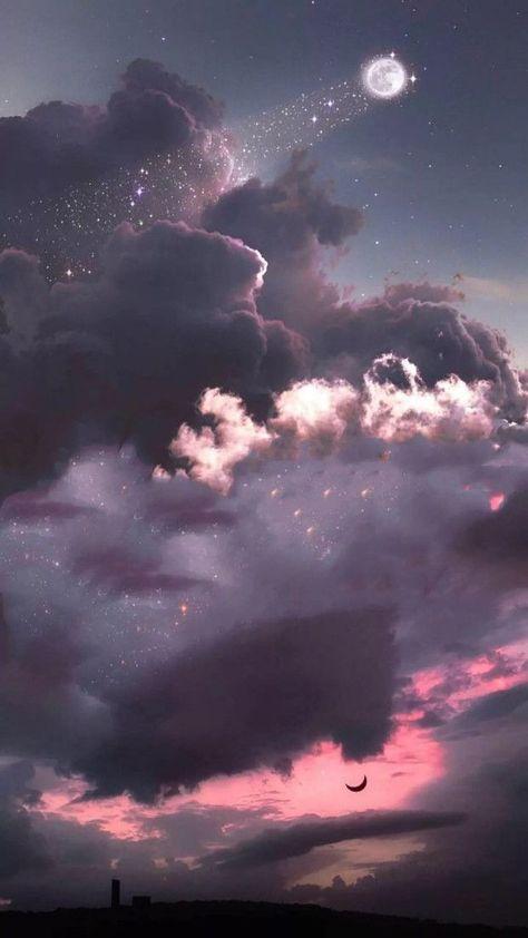 click-to-see-more-bling-bling-galaxy-moon-and-star-wallpaper-galaxywallpaper-galaxyart-moonaesthe/ SULTANGAZI SEARCH Moon And Stars Wallpaper, Pink Clouds Wallpaper, Galaxy Wallpaper Iphone, Night Sky Wallpaper, Wallpaper Space, Star Wallpaper, Homescreen Wallpaper, Iphone Background Wallpaper, Tumblr Wallpaper