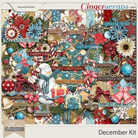mistletoe Included in the December Kit...