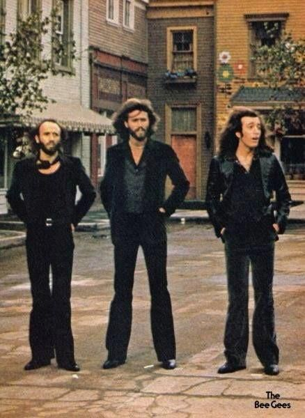 I love this picture of them #BeeGees