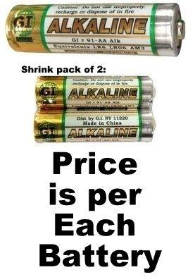 Gi Aa Alkaline Battery Duracell Batteries Duracell Rechargeable Batteries