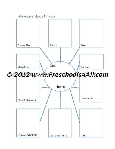 Preschool Lesson Plan Template And Lesson Plan Format That Works - Templates for lesson plans