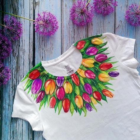 All Through The History Of The World Fashion Has Continued To Develop In Conjunction With Cultu Hand Painted Fabric Fabric Paint Designs Hand Painted Clothing