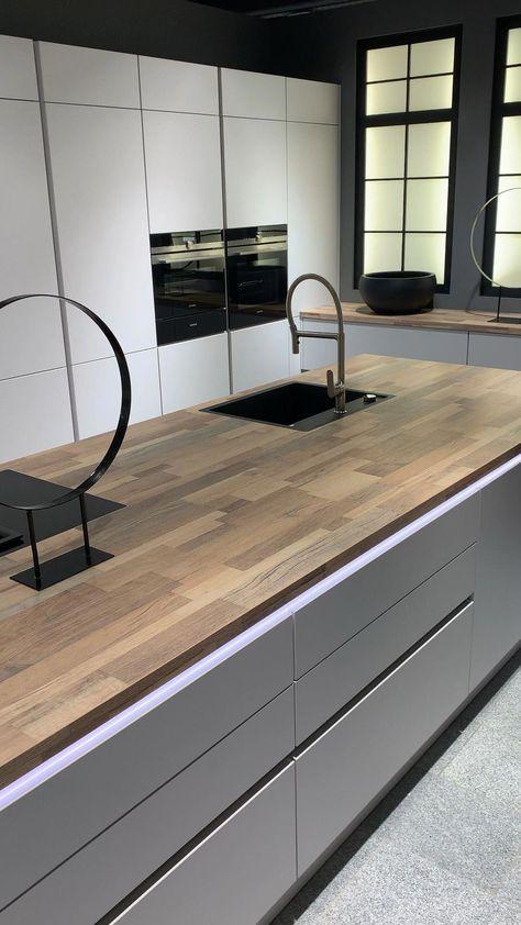 Gib deiner Küche ein Gesicht mit vielen kleinen aber feinen Details bekommt deine Küche dein Steel. #modernkitchen