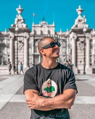 من هو طه إيسو تعرف على اليتوبر المغربي الشهير طه إيسو السولامي Taha Essou Mens Tops Mens Tshirts Tops