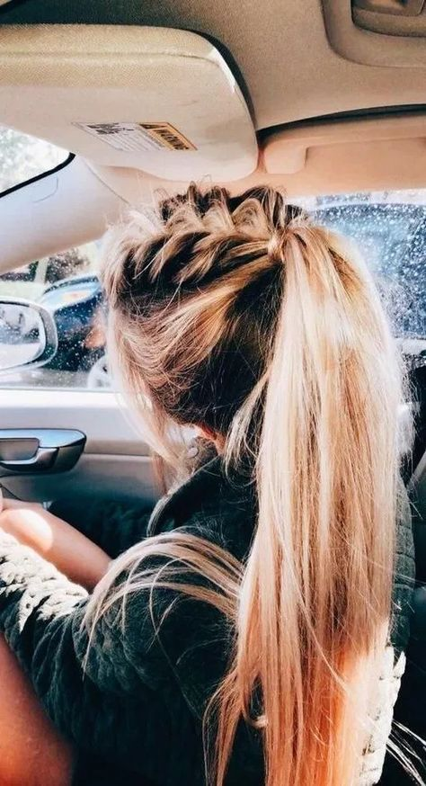 150 perfect ponytail hairstyles you should try -page 13 > Homemytri.Com