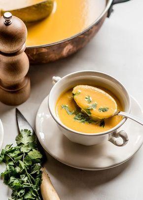 Crema De Zanahorias Y Jengibre
