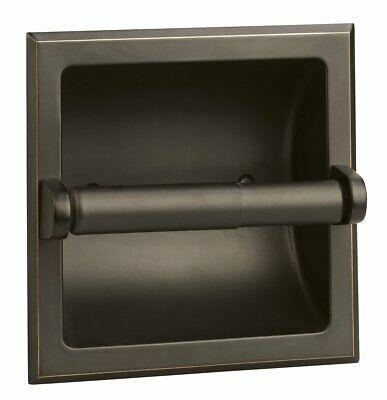Details About Design House 539254 Millbridge Recessed Toilet Paper Holder Oil Rubbed Bronze Recessed Toilet Paper Holder Toilet Paper Holder Bronze Toilet Paper Holder