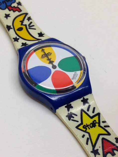 Vintage Swatch Watch Space People 1993 von ThatIsSoFunny - That's so me - Uhren