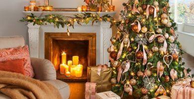 Guirnaldas De Navidad Ideas Para La Decoracion Navidena Guirnaldas De Navidad Adornos Navidenos Navideno