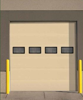 Overhead Dooru0027s Insulated Thermacore® AP Model 850 Is Engineered To Deliver  Advanced Performance In Commercial